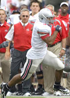 Jim Tressel says Brandon Saine might be ready for Purdue