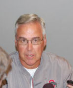 OSU defensive coordinator Jim Heacock answers the media on facing diverse offensive sets this season