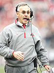 This is usually about the most animated you'll see Ohio State coach Jim Tressel on the sideline