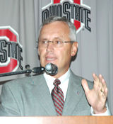 Jim Tressel's September 11 news conference