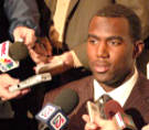 CB Malcolm Jenkins spoke to the media Tuesday after Jim Tressel's weekly press luncheon