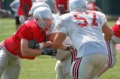 OSU's first day in pads August 11