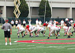 OSU team at practice