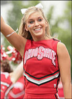 SI.com's Cheerleader of the Week OSU's Allison Michelle Humbert
