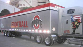 OSU Equipment Truck