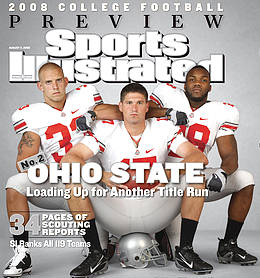 Ohio State is ranked No. 2 in the country in the preseason Sports Illustrated rankings