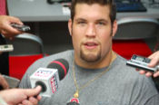 Alex Boone not only trimmed up his hair but also is listed 13 pounds lighter than last year after grueling offseason workouts.