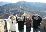 O-H- I-O at The Great Wall of China