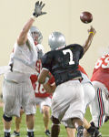 QB Antonio Henton during the Spring Jersey scrimmage