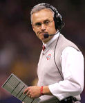 Jim Tressel is 28-9 against ranked opponents during his career as head coach at Ohio State. He is 8-4 against opponents ranked in the top 10.