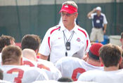 Jim Tressel and the Buckeyes held their first practice Monday afternoon.