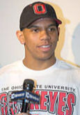 Terrelle Pryor when he announced he would attend The Ohio State University