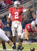 OSU QB Terrelle Pryor in action vs Penn State October 25, 2008 (Photo: The Ozone)