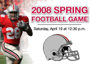 Scarlet and Gray Game this Saturday April 19