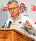 Head coach Jim Tressel and the senior Buckeyes met with the media Monday to preview the matchup against Michigan.
