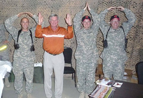 Was Mack Brown converted?
