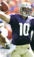 Redshirt freshman QB Jake Locker leads the Huskies