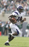 RB Tyrell Sutton of Northwestern is a former Ohio Mr. Football award winner