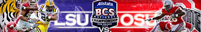 LSU vs OSU in the BCS National Championship Game January 7, 2008