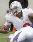 Buckeye's QB Terrelle Pryor in action against Northwestern 11/08/8 (Photo: Associated Press)