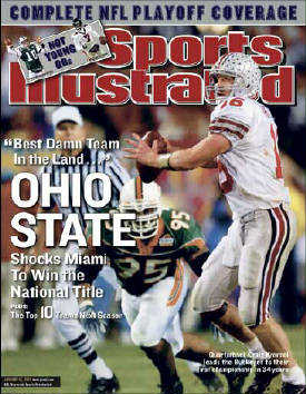 SI Cover:OSU National Champions