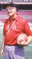 Former Ohio State Head Football coach Woody Hayes