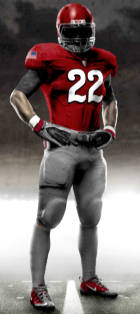 Nike Pro Combat Uniforms for Buckeyes vs. Wolverines 2010