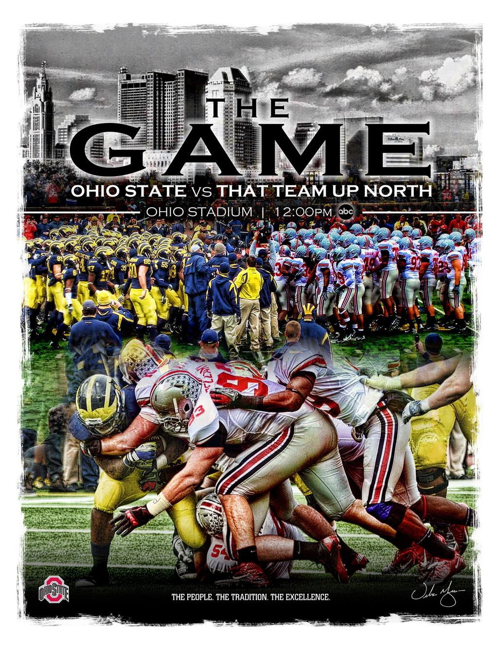Ohio State Vs Michigan The Greatest Rivalry In Sports The Game