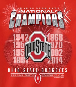 Ohio State Consensus National Champions