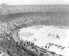 1950 Snow Bowl Ohio State Michigan Columbus Ohio